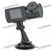 300KP Wide Angle Car DVR Camcorder w/ 8-IR LED Night Vision/TF Slot (2.0″ TFT LCD)