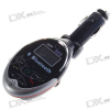 MP3 Player FM Transmitter + Bluetooth Carkit with USB/SD Slot and IR Remote Controller