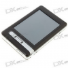 2.8″ LCD Touch Screen MP4 Player with 300KP Camera/DV Recorder/TF Card Slot/TV (2GB)