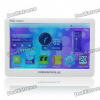 5.0″ Touch Screen MP5 Media Player with FM/TF/TV-Out — White (4GB)