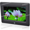 Фоторамка 7″ Wide Screen TFT LCD Desktop Digital Photo Frame with SD/MMC/TV Out — Black (480*234px)