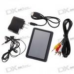 Медиаплеер 4.3 Touch Screen MP3/MP4/AVI/RM/RMVB Portable