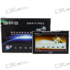 7.0″ Touchscreen 400MHz CPU Windows CE 5.0 GPS Navigator