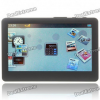 MP5 4.3″ Touch Screen LCD HD MultiMedia Player with FM/Camera/HDMI/TF Slot — Black (800×480/4GB)