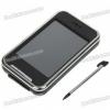 2.8″ LCD Touch Screen MP4/AVI/RM/RMVB Player with FM Radio (4GB Internal + Mini SD)