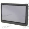 4.3″ LCD Touch Screen AVI/RM/RMVB Portable Media Player with FM Radio — Black (4GB/TF Card Slot)