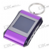 Фоторамка 1.5″ LCD Rechargeable Digital USB Photo Frame Keychain — Purple (107-Picture Memory Storage)