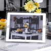 Фоторамка 13.3″ TFT LCD Digital Photo Frame with USB/SD/MMC/MS/Remote Controller — White (16MB)