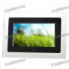 Фоторамка 7″ Wide Screen TFT LCD Desktop Digital Photo Frame with SD/MMC/TV Out — Black (480x234px)